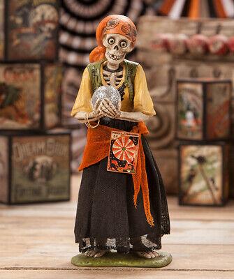 Bethany Lowe SKELETON GYPSY Halloween Figure (TD7621)