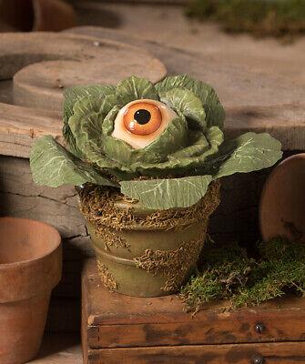 Bethany Lowe EERIE EYEBALL LETTUCE Halloween Plant Figure (TD9060)