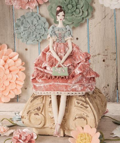 Bethany Lowe Designs; Spring Doll; Secret Garden Fancy Lady
