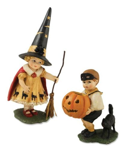 Bethany Lowe Halloween Trick or Treaters Figurines   ~~ FREE SHIPPING ~~