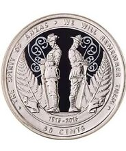 Centenary of the ANZAC's coin Wilby Moira Area Preview