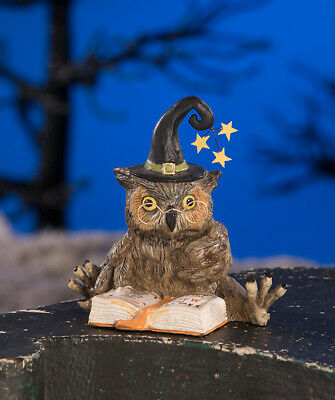 Bethany Lowe Owl Wizard Figurine ~~ Halloween Must-Have ~~ FREE SHIPPING