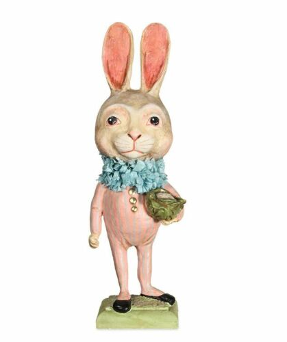 Bethany Lowe - Easter - Tall Bunny with Cauliflower - HH8848