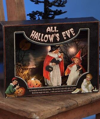 Bethany Lowe Halloween All Hallow's Eve Shadowbox New 2017 SN6022