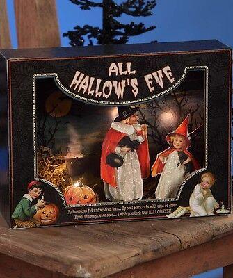 Bethany Lowe Halloween All Hallow's Eve Shadowbox New 2017 SN6022
