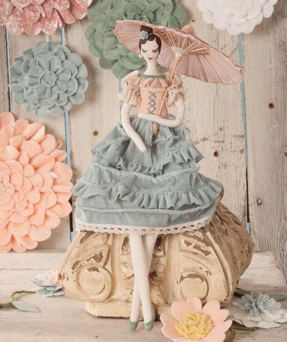 Bethany Lowe Designs; Spring Doll; Secret Garden Parasol in Paris Girl