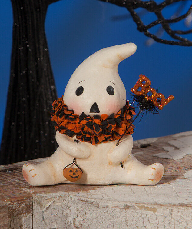 Bethany Lowe Halloween Boo Ghostie Resin Ghost Figurine Decoration Decor