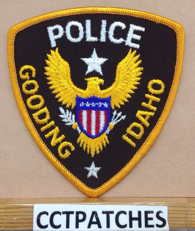 GOODING, IDAHO POLICE SHOULDER PATCH ID
