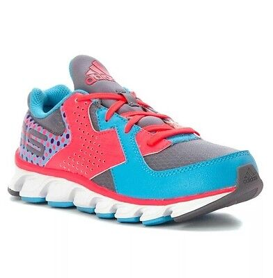 Adidas Girl's Shoe Athletic Force Blaze Cyan/Red 6.5 M Sneaker Sports Active