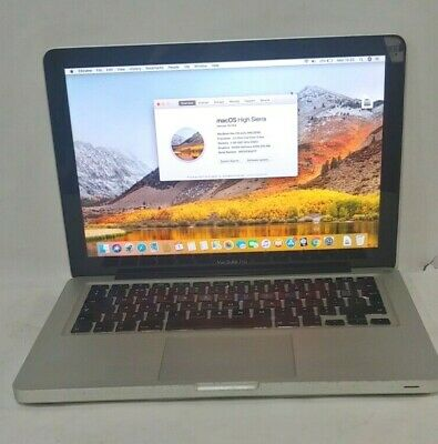 "Apple MacBook Pro 13.3"" A1278 (2010) Core 2 Duo 2.4 GHz 4 GB 500 GB HDD Warranty"