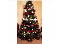 6ft large artificial Christmas tree
