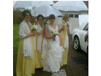 Wedding dress size 10/12