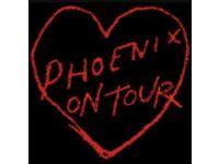 Discounted Phoenix Ticket - £20