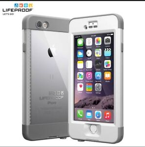 IPhone 6/6s White and grey nude life proof case Kingston Kingston Area image 1