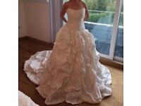 Dizzie Lizzie Wedding Gown. Beautiful Princess Dress