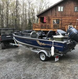 Fishing Boat and Trailer For Sale.