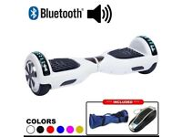 White Bluetooth smart balance electric scooter Hoverboard board