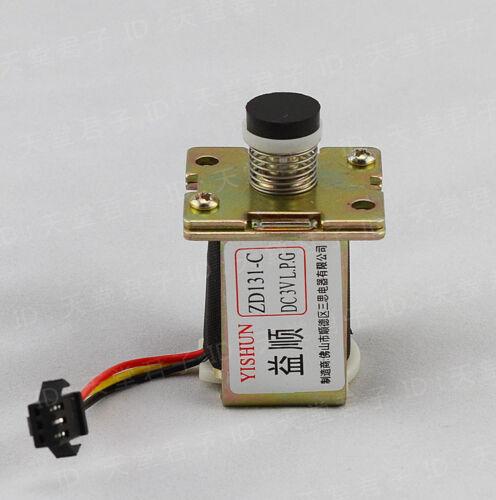 1PCS LPG Gas Water Heater Self Absorption Solenoid Valve 3VDC Spart Parts 14mm