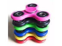 **£0.99p CHEAPEST Fidget Spinner in UK - All Colours bearings hand toy finger LED light