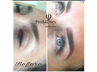 Microblading 💎Phi Brows 💎 Ombre 💎 High Definition HD eyebrows