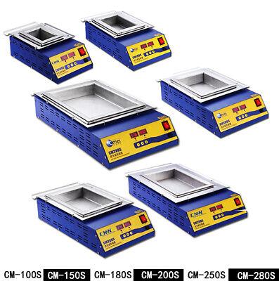Euus Plug Tin Furnace Adjustable Melting Temperature Solder Pot For Iron Solde