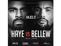 David Haye vs Tony Bellew - 02 London