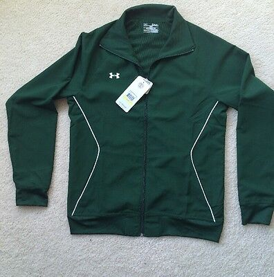 Under Armour Womens Green Track Suit Jacket Pants Size Medium NWT