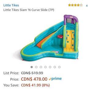 Little Tikes Slam 'N Curve Slide (7P)