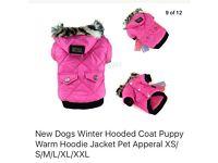 Dog hoodie VIP Pink