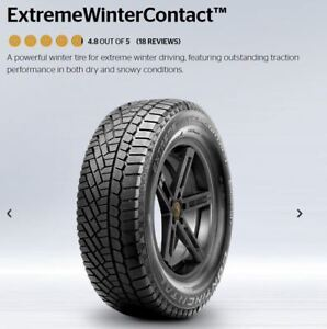 Continental Extreme Winter 215/55/17