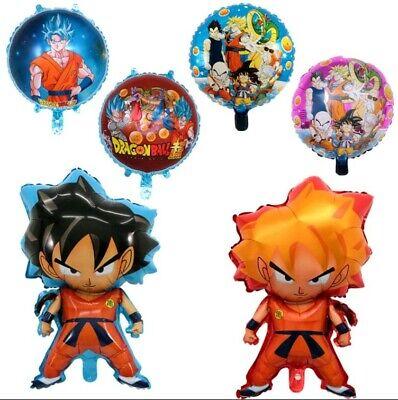 XL SUPER BIG Dragon Ball Goku 4 Helium Balloons Birthday Party FAST SHIPPING USA - Goku Party Supplies