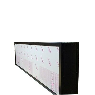 Double Sided Outdoor Led Light Box Sign  48 X 96 X 12