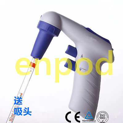 Electronic Pipette Controller 0.1-200ml Pipettor 110v220v With Charger Dhl