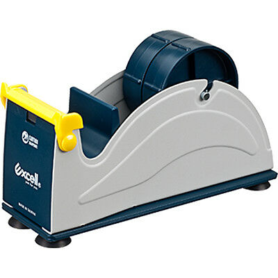 Excell Ex-17 Steel Desk Top Tape Dispenser 2 In. Width Suction Cup Bottom