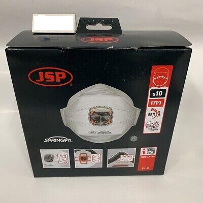 10x JSP 435 FFP3 NR D Atemschutzmaske mit Ventil Mundschutz Partikelfilter