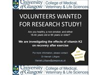 Research study needs volunteers - £50 voucher for participating