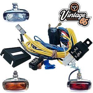 Classic Car Import Fog Light Spot Lamp 12v Switch Relay ...