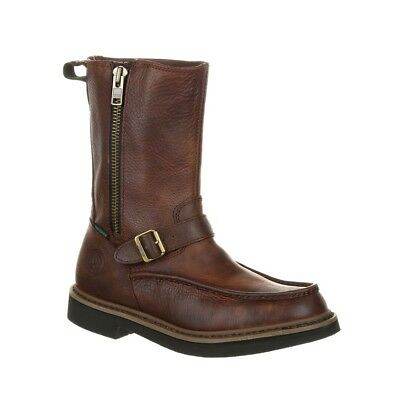 Georgia Boot Side Zip Waterproof Work Wellington G4124 Side Zip Wellington