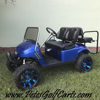 Custom Ezgo Golf Cart Electric 48v TxT 4 Seater
