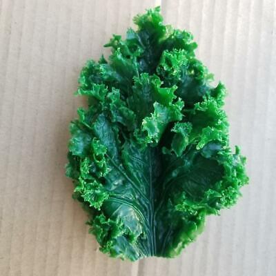 6 X 4 Plastic Kale For Salad Bar Display Fake Foods Artificial Kale Lot Of 21