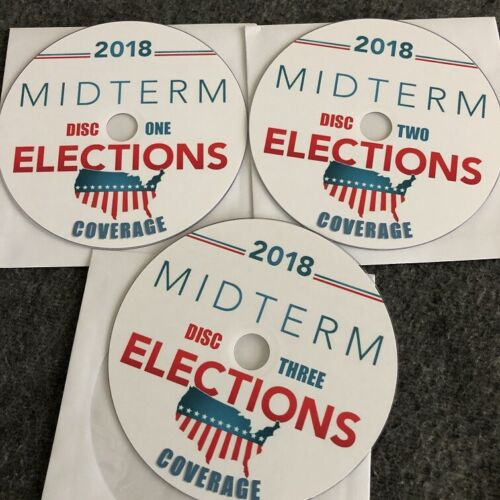 2018 Midterm Election Night Coverage in 3 discs