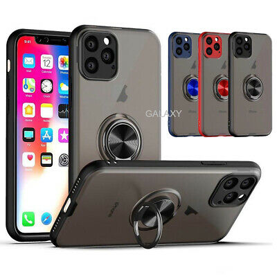 Case for iPhone 11 Pro Max Phone Cover Slim Hybrid Stand Ring 360 Car Magnetic