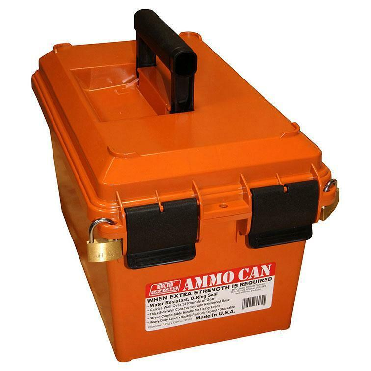 MTM AC35 Ammo Can for Bulk Ammo Orange