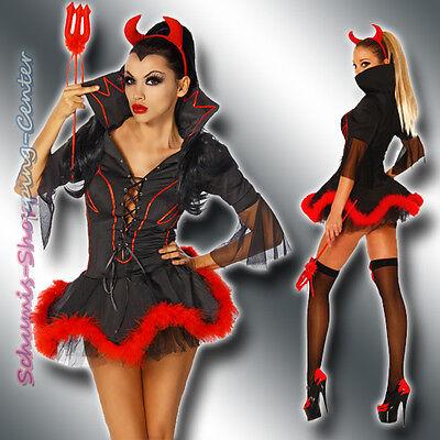 l Kostüm Karneval TeufelsKostüm Dämon Halloween Devil 11039 (Dämon Kostüm)