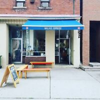 Wallace Espresso- Hiring Full and Part-time positions.