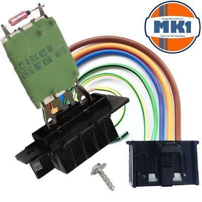 Fiat Grande Punto Heater Blower Motor Aircon Fan Resistor Wiring Harness Loom