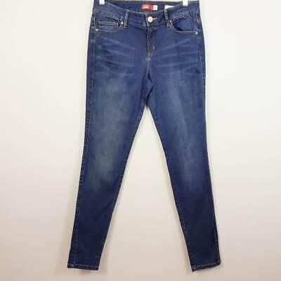 [ JAG ] Womens Blue Midrise Jeggings Jeans   Size AU 10