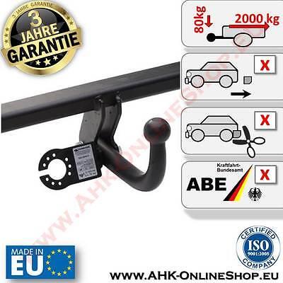 Für BMW 5er E34 Limousine 88-95 Anhängerkupplung AHK abnehmbar