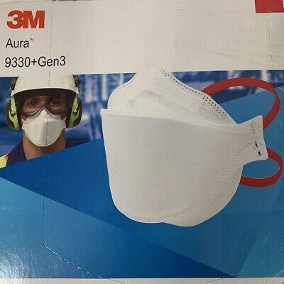 1x 3M Aura 9330+GEN3 FFP3 Atemschutzmaske ohne Ventil Mundschutz Partikelfilter