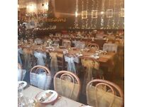***Chair cover hire/centrepieces hire/backdrop hire /balloons/decorator ***